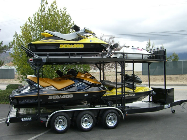 Ca Custom Pwc Boat Amp Watercraft Trailers Bear Trailersports